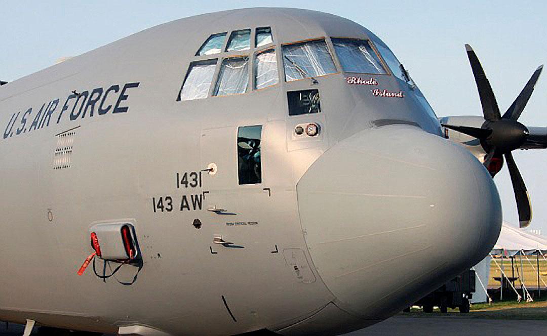 Lockheed C 130 Hercules Cubiertas Tapones Sombrilla Y M 225 S